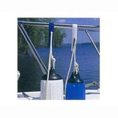 Taylor Made Products 1015 Tidy-Ups Boat Fender Adjuster (Standard Rails, White) by TAYLOR MADE PRODUCTS