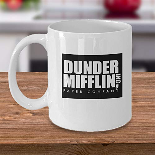 The Office Mug Mug Design The Office Gift Mugs Costume Halloween Michael Scott Company Logo Gift Idea Mug Gifts Dunder Mifflin