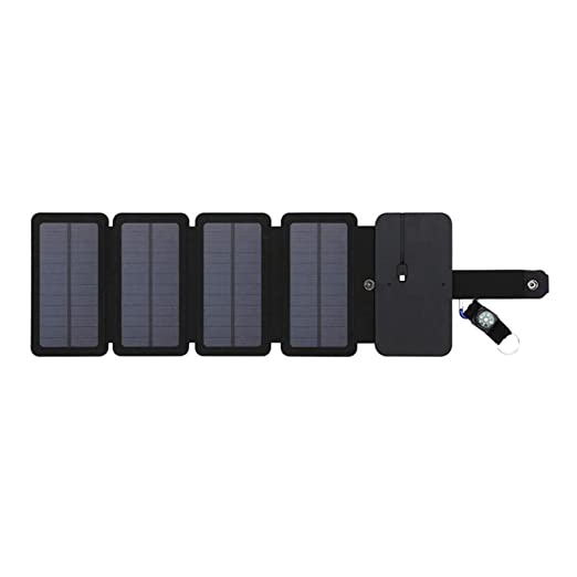 Juntful - Cargador Solar portátil Plegable de 7,5 W para ...