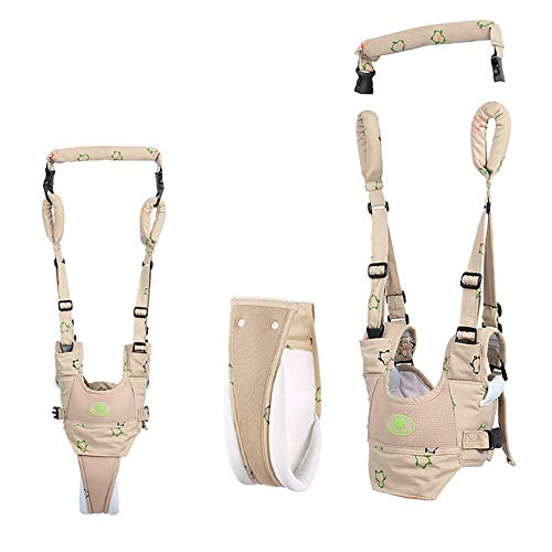 Baby Walker Toddler Walking Harness, 4 in 1 Functional Handheld Baby Walking Assistant for Kids, Breathable Stand Up and Walking Learning Helper for Baby 7-24 Months
