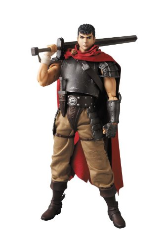 Medicom Berserk: Band of The Hawk Version Guts Real Action Hero Figure (Berserk And The Band Of The Hawk Items)