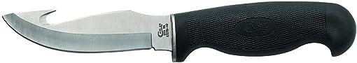 CASE XX WR Pocket Knife Black Lightweight Gut Hook Hunter Item 532 – Lt275 4G SS – Length 8 1 2 Inches