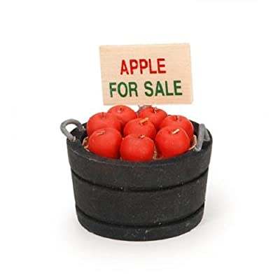 Darice Timeless Miniatures, Bucket of Apples: Arts, Crafts & Sewing