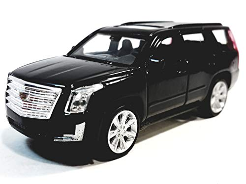 Welly Black 2017 Cadillac Escalade SUV 1/38 O Scale Diecast Car