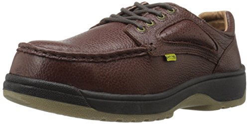 Florsheim Work Men's Compadre FE2440 Work Shoe, Brown, 8 3E US by Florsheim
