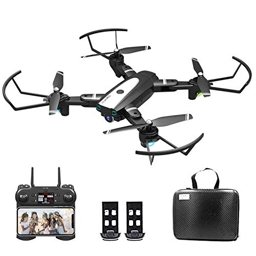 0BEST Drone with Camera 4K HD, WiFi FPV Live Video, With LED Lights, Special Effects Mode, Gesture Recording/Taking…