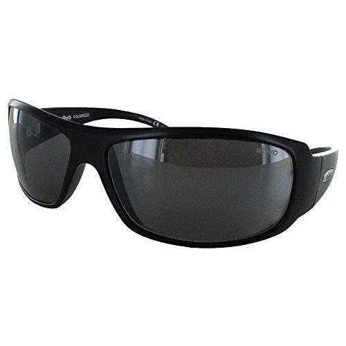 Revo Re 5010x Gunner Wraparound Polarized Wrap Sunglasses, Matte Black Graphite, 66 - H&m Sunglasses Case
