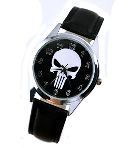 The Punisher Watch Skull Head Wrist Watch:162