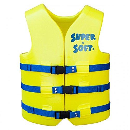 Trc Recreation Adult Super Soft Uscg Vest  Yellow  Xx Large