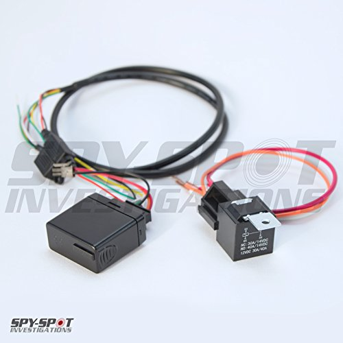 3G Spy Spot Wired-In GPS Vehicle Tracker with Kill Switch Starter Disable / Enable by SpySpotGPS