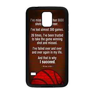 Unique Printing Art Custom Michael Jordan Pattern Phone Case for SamSung Galaxy S5,TPU diy cover case s5-linda163
