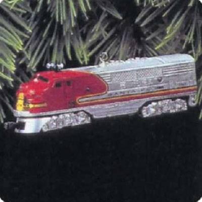QX6145 1950 Santa Fe F3 Locomotive Lionel Trains 2nd Hallmark Keepsake Ornaments by Hallmark Cards, Inc.