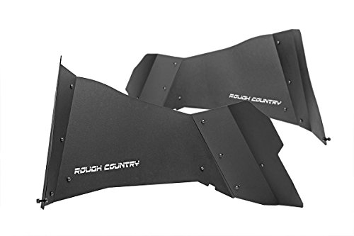 Rough Country - 10500 - Rear Steel Inner Fenders / Fender Liners for Jeep: 07-18 Wrangler JK 4WD, 07-18 Wrangler Unlimited JK 4WD/2WD