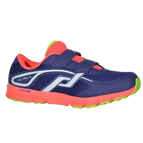 PRO TOUCH Kinder- Running Schuh OZ Pro III VLC JR, lila/weiss/pink/lime,34