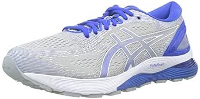 ASICS Australia Gel-Nimbus 21 Lite-Show Men's Running Shoe, Mid Grey/Illusion Blue, 7 US