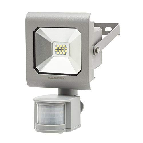 BLAUPUNKT Focos led exterior con sensor de movimiento Series Diamante Foco LED 10W 6500K Blanco Frío