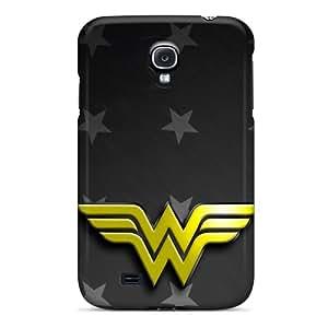 SherriFakhry Samsung Galaxy S4 Perfect Cell-phone Hard Cover Custom High Resolution Wonder Woman Logo Series [kBf8235Ykpa]