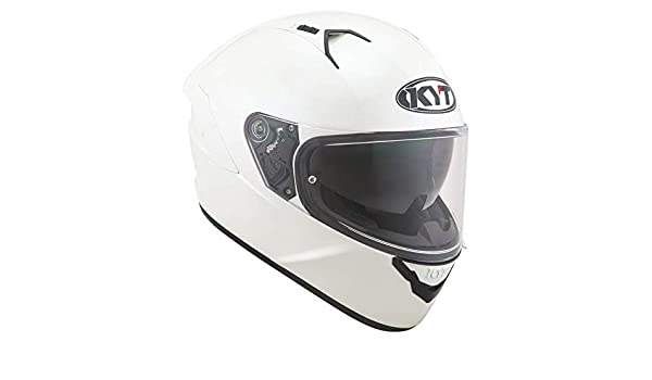 Amazon.es: KYT casco Moto Integral nf-r, Plain Pearl White, talla XL ...