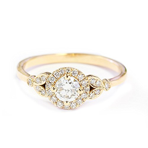 0.4 Ct Womens Diamond - 8