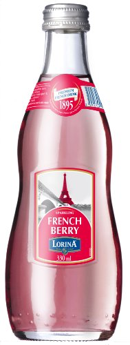 Lorina Sparkling French Berry Lemonade, 11.1-Ounce (Pack of 12)