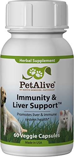 PetAlive Immunity and Liver Support — 60 Veggie Caps