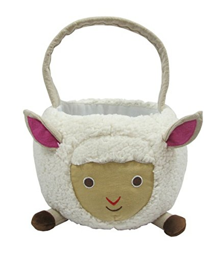 Plush Lamb Easter Basket