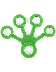 أداة تمرين قبضة اليد سيلكون لون أخضر