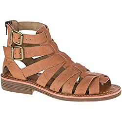 Cat by Caterpillar Women's Cassell Gladiator Sandal Woody 9.5 M, EU 40.5