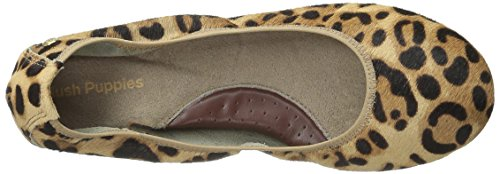 Hush Puppies Mujeres Chaste Ballet Flat Leopard