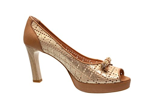 Hispanitas Damen Pumps/High Heels Sauvage-V6 Cammeo (Braun) V62680