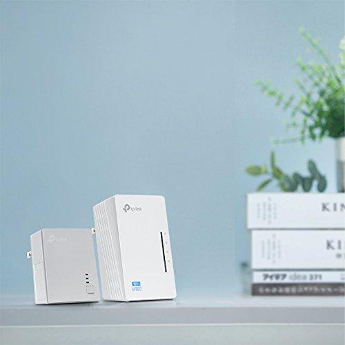 TP-Link AV500 2-port Powerline wifi Extender, Powerline Adapter with wifi, 2 Kits (TL-WPA4220 KIT) by TP-Link (Image #2)