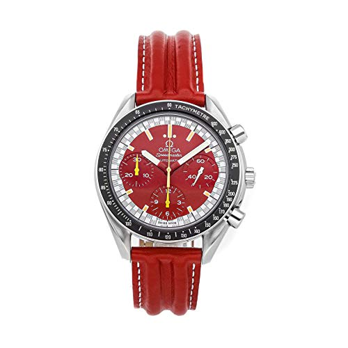 Omega Speedmaster Mechanical (Automatic) Red Dial Mens Watch 3810.61.41 (Certified Pre-Owned)