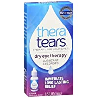 Thera Tears Theratears Lubricant Eye Drops, 0.5-Ounce Bottle