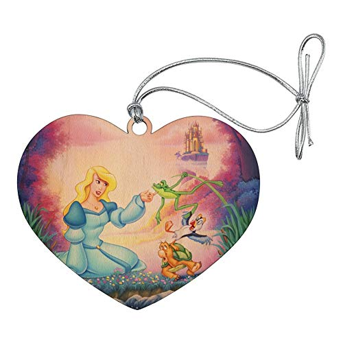 (GRAPHICS & MORE The Swan Princess Odette Jean-Bob Frog Puffin Speed Turtle Heart Love Wood Christmas Tree Holiday)