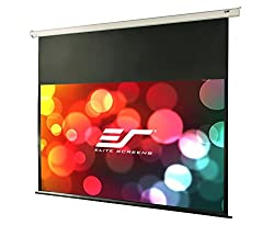"Elite Screens Vmax2, 120-inch 16:9, 24"" Drop, Electric Motorized Drop Down Hd Projection Projector Screen, Vmax120xwh2-e24"