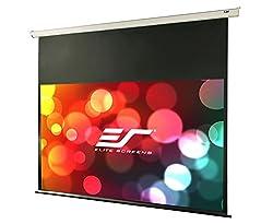 "Elite Screens Vmax2, 120-inch 16:9, 24"" Drop, Electric Motorized Drop Down Hd Projection Projector Screen, Vmax120xwh2-e24"
