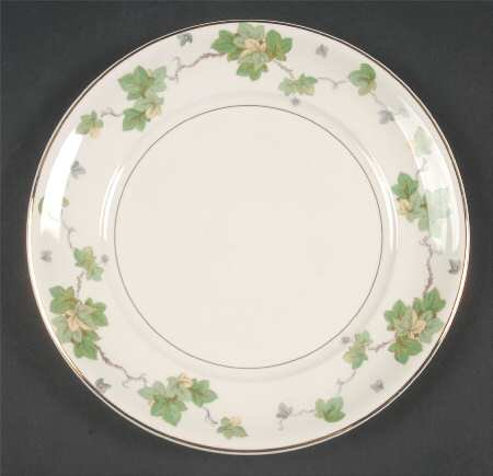 Vintage Antique Pope Gosser AMERICAN IVY Bread & Butter Plate