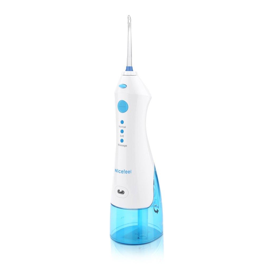 Irrigador Dental Portátil para Cuidado Water Flosser Dental Bucal para Viaje