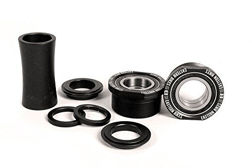 - Eastern Bikes Euro Bottom Bracket Kit, Matte Black