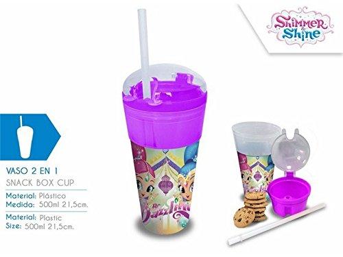 Disney Shimmer And Shine Bicchiere 2 en SH17087