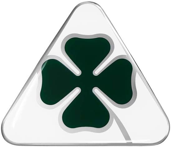 Alfa Romeo 21840 Official 3D Stickers Clover 5 cm