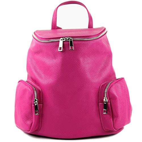 Pink ital à de dos T175 cuir en pour modamoda Sac femme ZUqvg