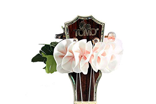(ukuhappy Ukulele Ribbon Leis Hawaiian Crafts Ukulele Accessories Plumeria (wp))