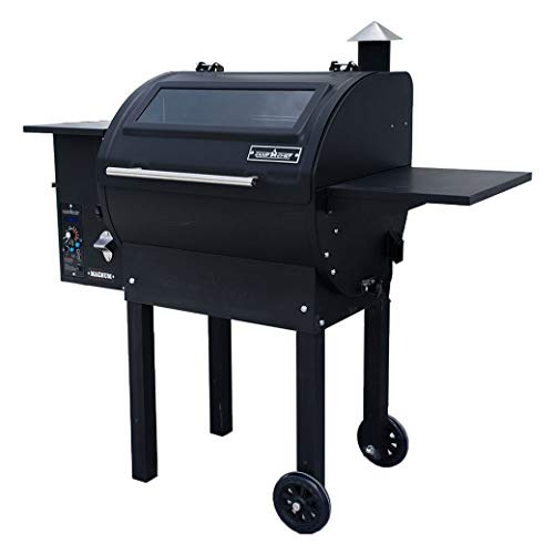 Camp Chef PG24MG Magnum Outdoor Pellet Smoker Combination Grill, 24, Black