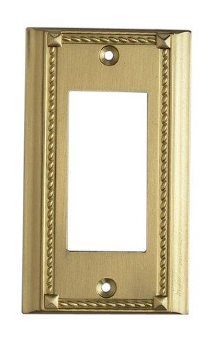 Elk 2502BR Brass Single Switch Plate