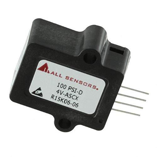SENSOR AMP 0-100PSID (Pack of 1) (100 PSI-D-4V-ASCX)