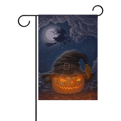 halloween pumpkin a witch hat