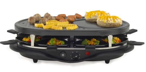 west 6130 bend raclette party grill. Black Bedroom Furniture Sets. Home Design Ideas