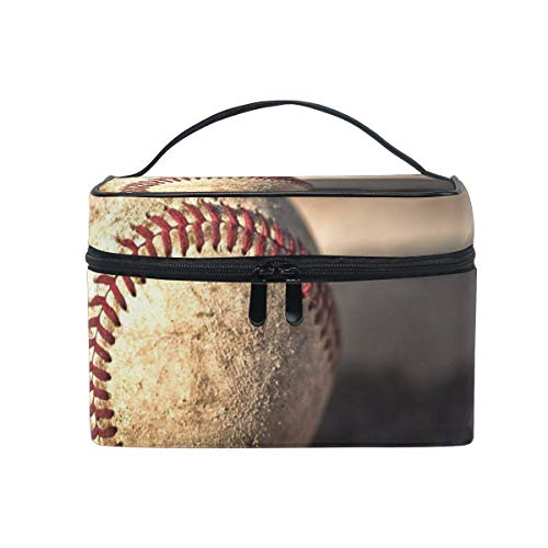 All agree Toiletry Bag Baseball Super Womens Beauty Makeup Case Brush Cosmetic -