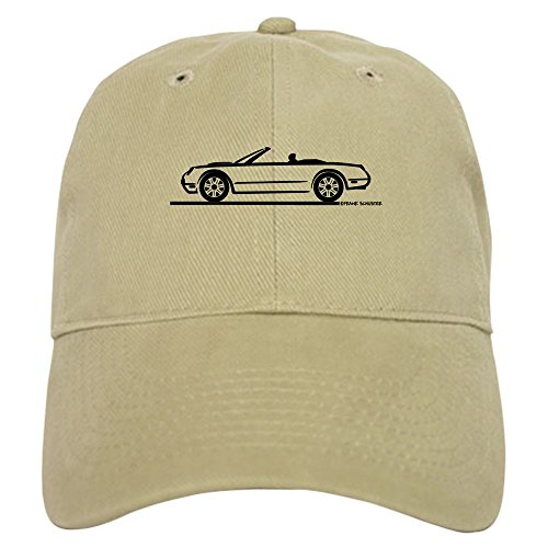- CafePress - 02 05 Ford Thunderbird Convertible - Baseball Cap with Adjustable Closure, Unique Printed Baseball Hat Khaki